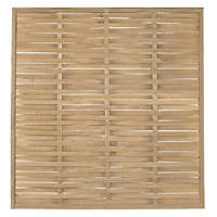 Forest WFP18PK4HD Woven  Fence Panel 6 x 6' Pack of 4