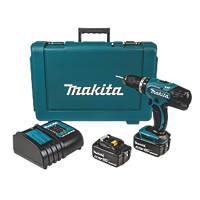 Makita DHP453SME 18V 4.0Ah Li-Ion LXT  Cordless Combi Drill