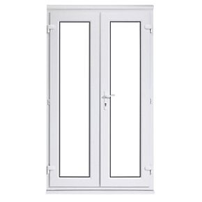 Euramax upvc french door white 1790 x 2090mm doors for Upvc french doors 1790 x 2090mm