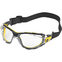 Delta Plus Pacaya Strap Clear Lens Safety Specs