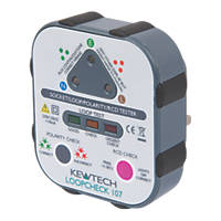 Kewtech Loopcheck 107 13A Advanced Socket Tester 230V AC