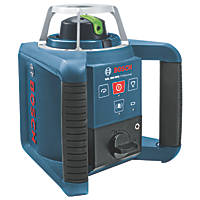 Bosch GRL 300 HVG Professional Green Self-Levelling Rotary Laser Level With Receiver