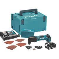 Makita DTM50RT1J1 18V 5.0Ah Li-Ion LXT  Cordless Multi Tool