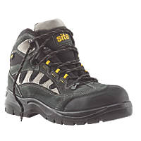 Site Granite   Safety Trainers Dark Grey Size 8