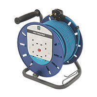 Masterplug 13A 4-Gang 45m  Cable Reel 240V