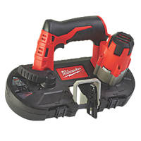 Milwaukee M12 BS-0 41mm 12V Li-Ion RedLithium  Cordless Sub-Compact Bandsaw  - Bare
