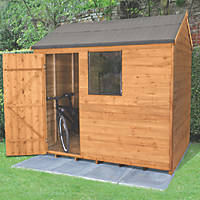 Forest 8' x 6' (Nominal) Apex Overlap Timber Shed