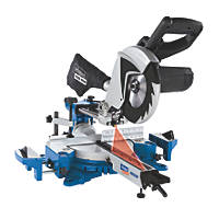 Scheppach HM80MP 216mm Single-Bevel Sliding  Compound Mitre Saw 230V