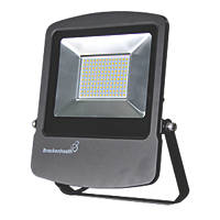 Brackenheath Rex LED Industrial Floodlight 100W Black Cool White