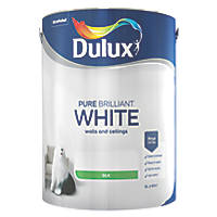 Dulux Silk Emulsion Paint Pure Brilliant White 5Ltr