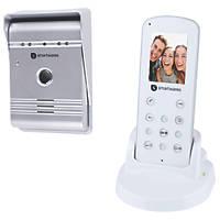 Smartwares VD36W Wireless Video Doorbell Intercom With Portable Handset
