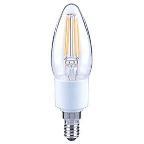 lap ses candle led virtual filament light bulb 470lm 5w. Black Bedroom Furniture Sets. Home Design Ideas
