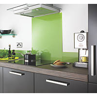 Impact Glass Lime Self-Adhesive Toughened Glass Splashback 600 x 750 x 6mm