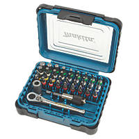 "Makita  ¼"" Screwdriver Bit Set 39 Pieces"