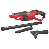 Milwaukee M12 HV-0 12V Li-Ion RedLithium  Cordless Stick Vacuum Cleaner - Bare