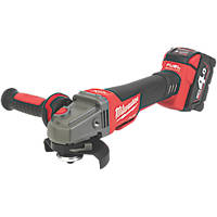 "Milwaukee M18CAG115XPDB-401C FUEL 18V 4.0Ah Li-Ion RedLithium 4½"" Brushless Cordless Angle Grinder"