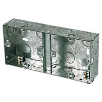 Appleby Galvanised Steel Dual 35mm