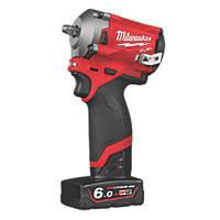 Milwaukee M12 FIW38-622X FUEL 12V 2.0 & 6.0Ah Li-Ion RedLithium Brushless Cordless Impact Wrench