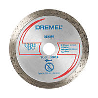 "Dremel Saw-Max  Diamond Tile Cutting Disc 2"" (55mm) x 5 x 11mm"