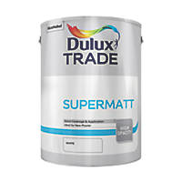 Dulux Trade Supermatt Emulsion White 5Ltr
