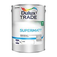 Dulux Trade Supermatt Emulsion White 5Ltr