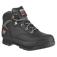Timberland Pro Euro Hiker   Safety Boots Black Size 9