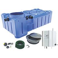 FloPlast Rainwater Harvesting System 1500Ltr