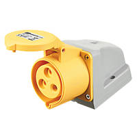 MK 32A 2P+E Base-Standing or Wall-Hung Installation Surface Outlet 100-130V