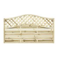 Grange Woodbury Fence Panel 1.8 x 1.05m 3 Pack
