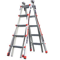 Little Giant Revolution 4-Section Aluminium Multipurpose Ladder  5.4m