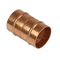 Yorkshire  Copper Solder Ring Equal Coupler 28mm