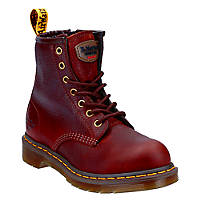 Dr Martens Maple Zip  Ladies Safety Boots Teak Size 8