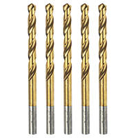 Erbauer  Ground HSS Drill Bits 5.5 x 93mm 5 Pack