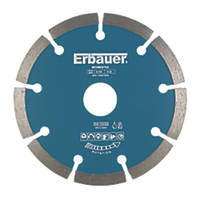 Erbauer Segmented Diamond Cutting Blade 115 x 22.2mm