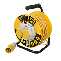 Masterplug LVCT2516/2-XD 16A 2-Gang 25m Cable Reel 110V