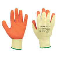 Builders Gloves Orange/Yellow X Large