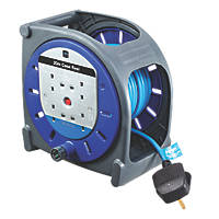Masterplug 13A 4-Gang 20m  Cable Reel 240V