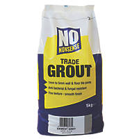 No Nonsense  No Mould Grout Cement Grey 5kg