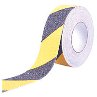 Anti-Slip Tape Black/Yellow 18m x 50mm