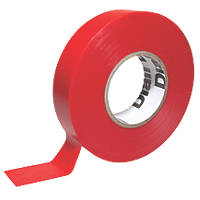 510 Insulating Tape Red 19mm x 33m