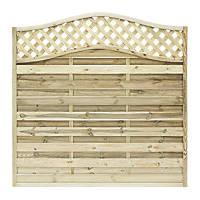 Grange Woodbury Fence Panel 1.8 x 1.8m 3 Pack