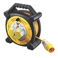 Masterplug LVHLT2516/2-XD 16A 2-Gang 25m Cable Reel 110V