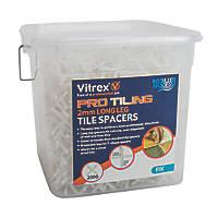 Vitrex Tile Spacer 2mm 2000 Pack