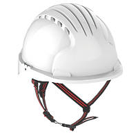 JSP EVO 5 Dualswitch Safety Helmet White