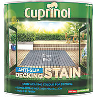 Cuprinol Anti-Slip Decking Stain Silver Birch 2.5Ltr