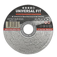 "Metal Metal Cutting Disc 4½"" (115mm) x 1.6 x 22.2mm"