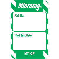 "Scafftag  ""Next Test Date"" Microtag Inserts 20 Pack"