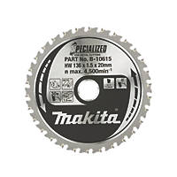 Makita TCT Circular Saw Blade 136 x 20mm 30T