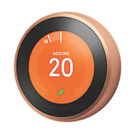Nest  Smart Thermostat & Hot Water Control Copper