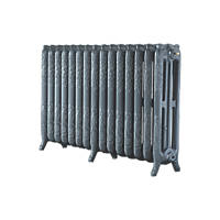 Arroll  3-Column Cast Iron Radiator 760 x 1234mm Cast Grey 7370BTU